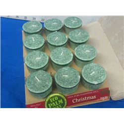 New Scented Christmas candles 12 total