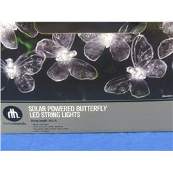 New Butterfly Solar string lights=20