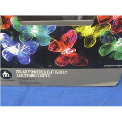 New Butterfly Solar string lights=20 colored