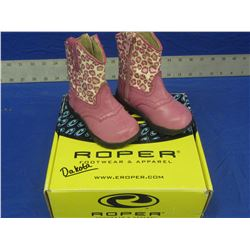 New Roper Size 5 Infant girls cowbow boots