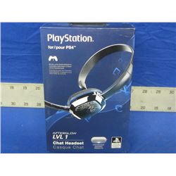 New Playstation 4 Chat Headset