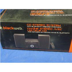New Black Web cd Stereo system