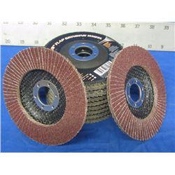 "New Flap Disk 4 1/2"" grinding wheel"