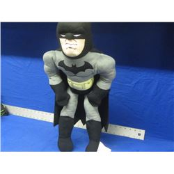 """New Batman stuffed toy 26"""" tall with his cape"""