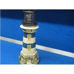 """Solar Lighthouse 24"""" tall"""