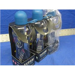3 New Bobble infuse water bottles