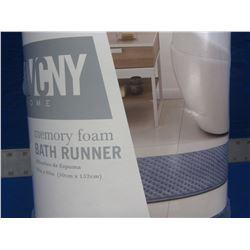 New VNCY memory foam bath runner