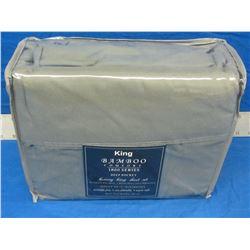 New King luxury sheet set, Bamboo 1800 series