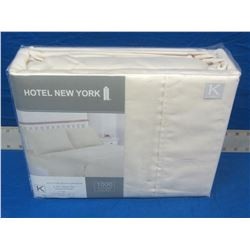 New Hotel New York King 4 pc sheet set 1000 thread count