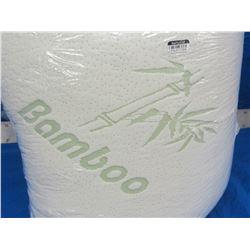 New king Bamboo memory pillow