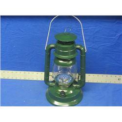 "New LED 14"" Hurricane lantern -Green"