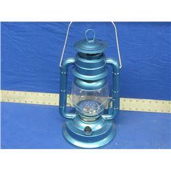 "New LED 14"" Hurricane lantern - Blue"
