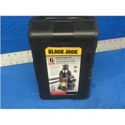 New 6 ton Black jack bottle jack in case.