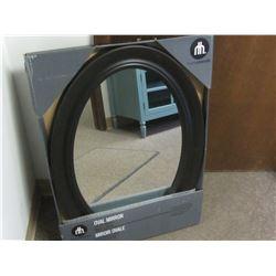"New Oval Mirror 20 x 30 """