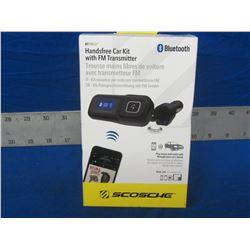New Bluetooth hands free car kit