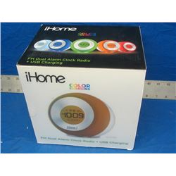 I-Home color changing clock