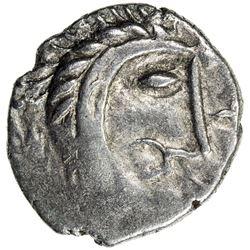 CELTIC: Boudicca, AR unit, ND (61 A.D.). VF