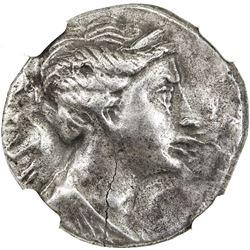 EPHESOS: Anonymous, 3rd century BC, AR didrachm (6.28g). NGC VF