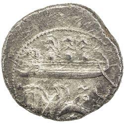 PHOENICIA: Azbaal, ca. 350 BC, AR dishekel (13.26g), Byblos. VF-EF