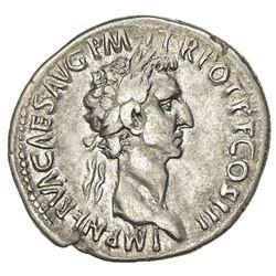ROMAN EMPIRE: Nerva, 96-98 AD, AR cistophoric tetradrachm (9.96g). F-VF