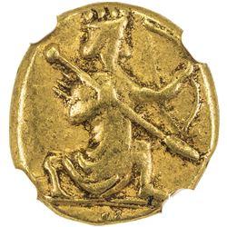 ACHAEMENID: Anonymous, 5th-4th century BC, AV daric (8.33g), [Sardes]. NGC VF