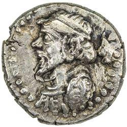 ELYMAIS: Kamnaskires IV, ca. 62-55 BC, AR drachm (2.02g). VF