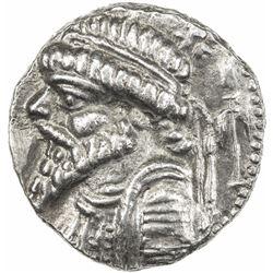 ELYMAIS: Kamnaskires V, ca. 62-54 BC & later, AR tetradrachm (16.09g), Seleucia. EF