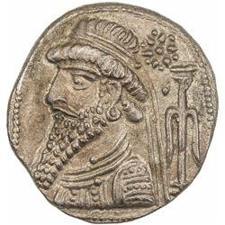 ELYMAIS: anonymous, late 1st century BC, BI tetradrachm (14.82g), Seleucia. EF