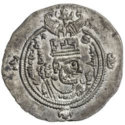 SASANIAN: Khusro II, 591-628, AR drachm (4.11g), SK (Sijistan), year 35. AU