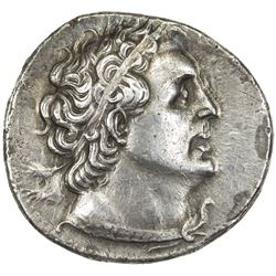 PTOLEMAIS: Ptolemy II, Philadelphos, 285-246 BC, AR tetradrachm (13.97g), Sidon, year 30 (=256/5 BC)