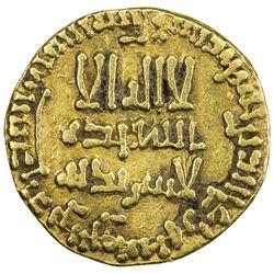 ABBASID: al-Mansur, 754-775, AV dinar (4.02g), NM, AH158. VF