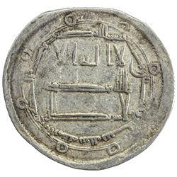 ABBASID: al-Mahdi, 775-785, AR dirham (2.77g), Arminiya, AH167. VF