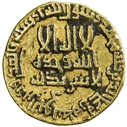 ABBASID: al-Rashid, 786-809, AV dinar (4.05g), NM (Egypt), AH171. VF