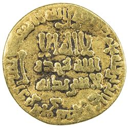 ABBASID: al-Rashid, 786-809, AV dinar (3.98g), NM (Egypt), AH173. F