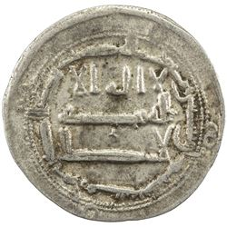 ABBASID: al-Rashid, 786-809, AR dirham (2.74g), Arminiya, AH178. VF
