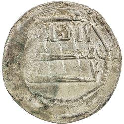 ABBASID: al-Rashid, 786-809, AR dirham (2.43g), Ifriqiya, AH175. EF