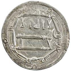 ABBASID: al-Rashid, 786-809, AR dirham (2.71g), Arran, AH189. EF