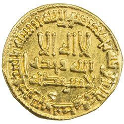 ABBASID: al-Amin (809-813/193-198 AH), AU dinar. AU