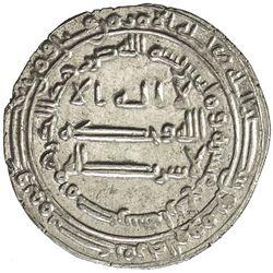 ABBASID: al-Ma'mun, 810-833, AR dirham (3.20g), Misr, AH214. EF