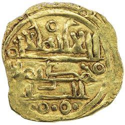 KHAZRUNID: Wanudin, before ca. 1048, AV dinar (2.33g), NM, ND. EF