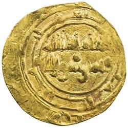 BANU HILAL: Anonymous, 11th century, AV dinar (4.01g), NM, ND. EF
