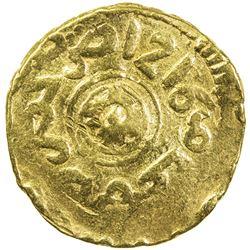 ALAWI SHARIF: Sulayman, 1793-1822, AV bunduqi (3.31g), Fez, AH1216. VF
