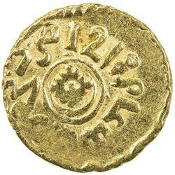 ALAWI SHARIF: Sulayman, 1793-1822, AV bunduqi (3.31g), Fez, AH1218. VF