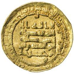 IKHSHIDID: Abu'l-Qasim, 946-961, AV dinar (4.59g), Filastin, AH335. EF-AU