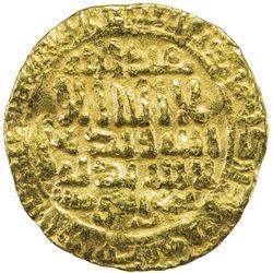 FATIMID: al-Mahdi, 909-934, AV dinar (4.17g), al-Qayrawan, AH303. F-VF