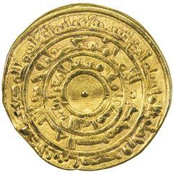 FATIMID: al-Mu'izz, 953-975, AV dinar (4.04g), Misr, AH361. VF