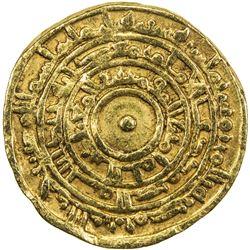 FATIMID: al-Mu'izz, 953-975, AV dinar (3.95g), Misr, AH362. VF