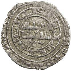 FATIMID: al-Hakim, 996-1021, AR dirham (1.36g), al-Mahdiya, AH389. VF