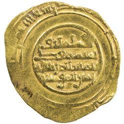 FATIMID: al-Mustansir, 1036-1094, AV 1/4 dinar (1.09g) (Siqilliya), DM. VF-EF