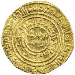 AYYUBID: al-Nasir Yusuf I (Saladin), 1169-1193, AV dinar (4.27g), al-Qahira, AH580. VF